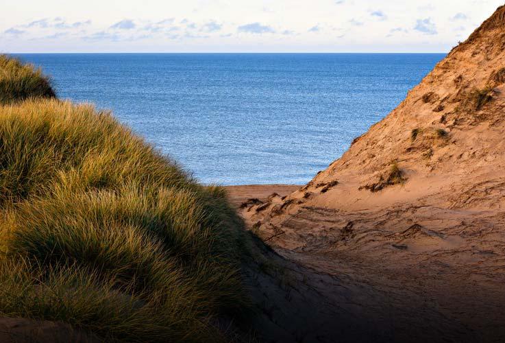 Besonderheiten der Nordseeküste in Dänemark