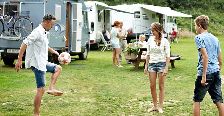 Camping Freizeit in Dänemark