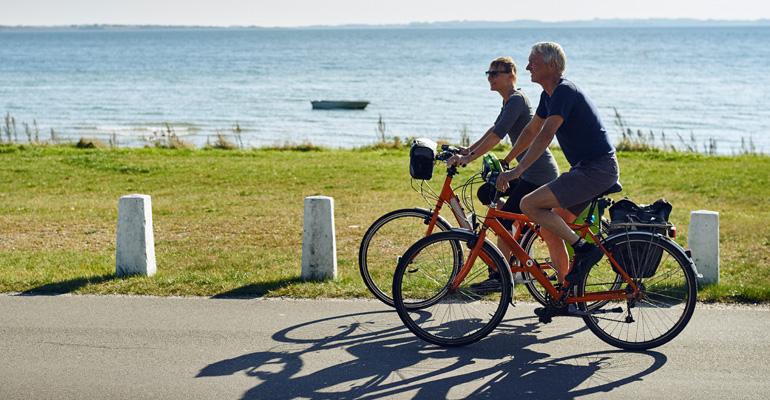 Fahrradfahren Radtour in Dänemark