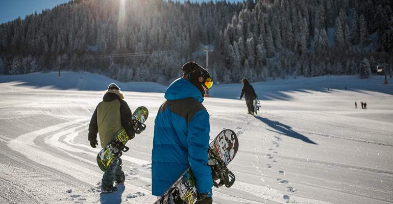 Skifahren Snowboarden in Dänemark