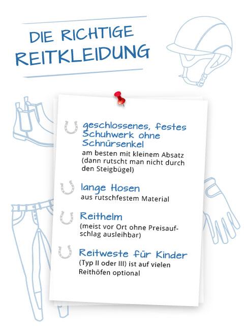 Checkliste Reitkleidung Daenemark